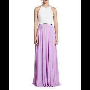 NEW halston heritage dress color tulip/ eggshell